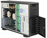 Super Micro CSE-743TQ-865B-SQ Big-Tower Server Gehäuse (8,9 cm (3,5 Zoll) S-ATA, 865 Watt Stromversorgung) schwarz