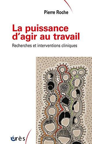 Vignette document Puissance d agir au travail :  recherches et interventions cliniques