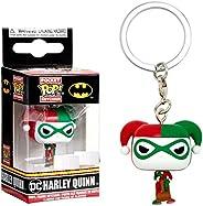 POP Keychains: DC - Harley Quinn (Holiday)