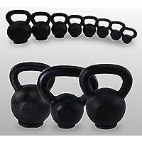 BodyRip Cast Iron Kettlebells 4kg 8kg 12kg 16kg 20kg 24kg 28kg 32kg