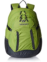 Wiki Daypack 34 liters Green Casual Backpack (8903338042280)