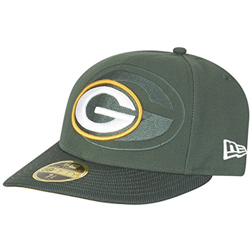 New Era 59Fifty LOW PROFILE Cap - SIDELINE Green Bay Packers (Bay Low)