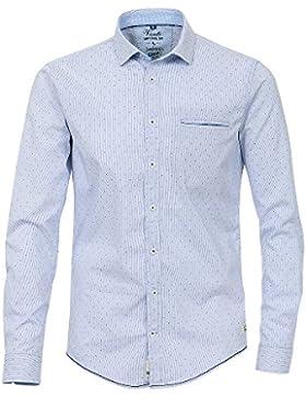 Venti Herren Freizeithemd 172680100 Easy Care 100% Baumwolle - Slim Fit