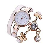 Bluestercool Women Girls Metal Strap Watch (I)