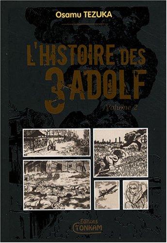 Histoire des 3 Adolf (l') - Deluxe Vol.2 par TEZUKA Osamu