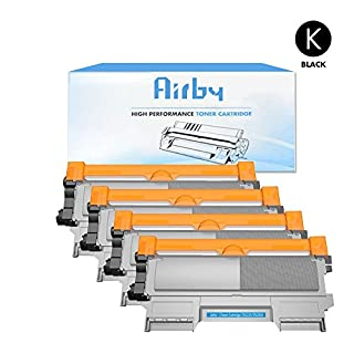 4 Stücke Airby Toner kompatibel zu TN2220 TN-2220 für Brother HL-2130 HL-2250DN DCP-7055 DCP-7055W HL-2220 HL-2132 HL-2230 HL-2240 HL-2240D HL-2270 HL-2270DW HL-2275 HL-2280DW MFC-7360N MFC-7460DN