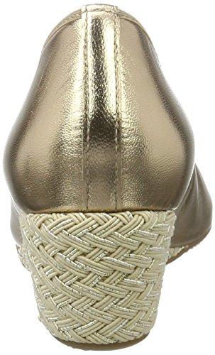 Hassia - Rimini, Weite G, Scarpe col tacco Donna Oro (platino)