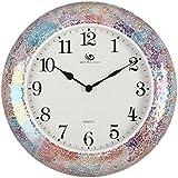reloj de pared de estilo japonés creativo modernas tendencias de la decoración del hogar de estar de lujo del dormitorio del sitio de reloj reloj de silencio