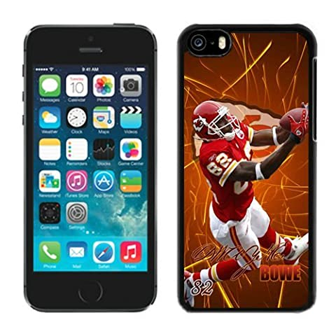 NFL Hard Case For iPhone 5C, Dwayne-Bowe iPhone 5C Protector Case, Kansas City Chiefs Rugger iPhone 5C