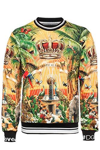 DOLCE E GABBANA Herren G9ow6thh7xphhih4 Multicolour Baumwolle Sweatshirt