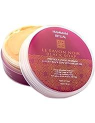 Hammam Ritual Savon Noir Révélateur d'Eclat au Rhassoul 150 ml