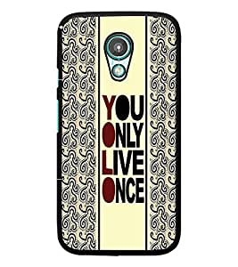 PrintDhaba Quote D-3354 Back Case Cover for MEIZU M1 NOTE (Multi-Coloured)