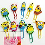Minion Paper Clip/Bookmark - Set of 2 - Assorted