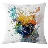 Longless Cartoon di biancheria in cotone cuscino cuscino kit cuscino creativo di ritenuta del veicolo per impedire il nido federa cuscino