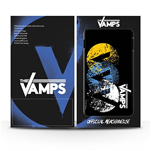 Offiziell The Vamps Hülle / Glanz Harten Stoßfest Case für Apple iPhone 6S+/Plus / Pack 6pcs Muster / The Vamps Graffiti Band Logo Kollektion VVV