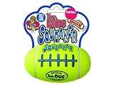 (2 Pack) Kong - Air Kong Squeaker Rugby USA Football Small