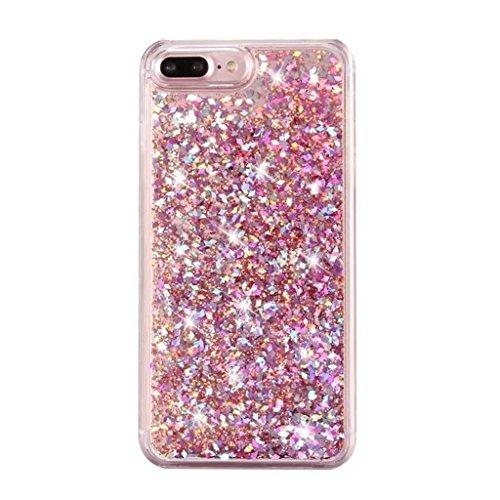 iPhone 6/6S Coque - 3D Design Créatif Prime Luxe Shine Flow Sand Adorable Flowing Flottant Mouvement Shine Glitter Sequins Bling Cute Pattern Téléphone Case pour iPhone 6/6S - Born to Shine 3-C