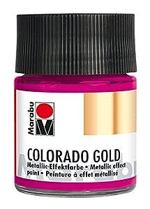 Marabu 12640005735Efecto Color, Metallic de Magenta