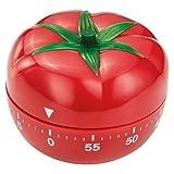 Judge pomodoro timer analogico, rosso