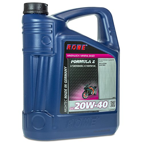 ROWE HIGHTEC FORMULA SAE 20W-40 Z, 5 Liter