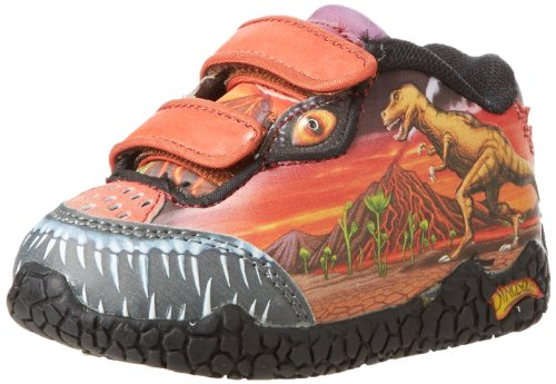 Dinosoles Light Up Junior Dinorama T de niños, Rojo, 5 Child UK