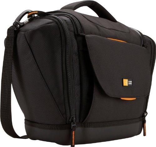 case-logic-slrc-203-borsa-in-nylon-per-fotocamere-reflex-con-zoom-e-altri-due-obiettivi-aggiuntivi-p
