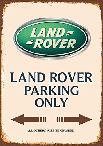 Land Rover Parking only blechschild