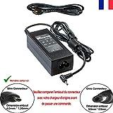LITE-AN Chargeur pour ASUS Model W15-065N1B Ordinateur PC Portable - Adaptateur...
