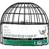 Chapelwood Squirrel Blocking Cage for Bird Feeders, 8 Inch
