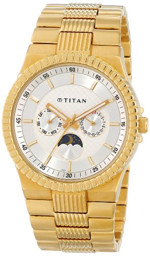5141zlEuk8L - Titan NE1532YM01 Regalia Silver Mens watch