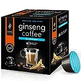 Ginseng Kaffee - 10 Kapseln Ginseng Kaffee ungesüßt DOLCE GUSTO®* - King Cup
