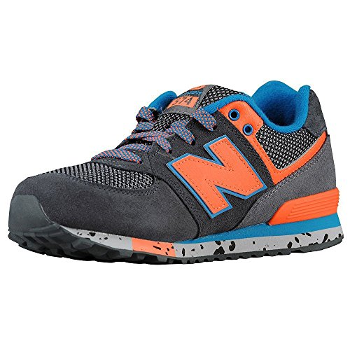 New Balance Classic Traditionnels Charcoal Youths Trainers Charcoal