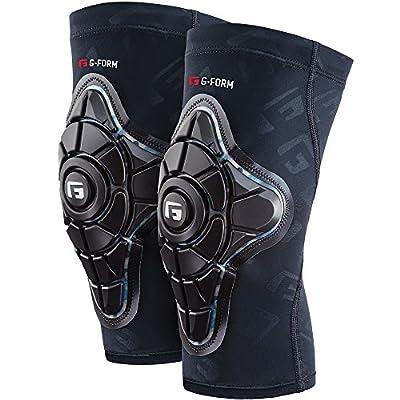 G-Form Pro-X Knee Junior Teal Camo/Black Knieschützer Unisex Kinder, schwarz