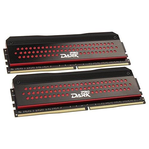 Team Group Dark Pro Series Speichermodul, 8GB, rot Rot-8 Gb Kit