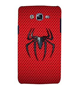 printtech Spider Mesh Back Case Cover for Samsung Galaxy J1 (2016) / Versions: J120F (Global); Galaxy Express 3 J120A (AT&T); J120H, J120M, J120M, J120T Also known as Samsung Galaxy J1 (2016) Duos with dual-SIM card slots