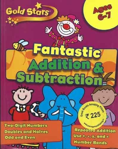 Gold Stars KS1 Addition and Subtraction Workbook Age 6-8 (Gold Stars Workbook Packs)