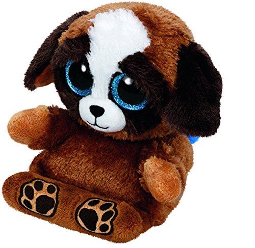 Pups - Hund, 15cm, mit Glitzeraugen, Peek-A-Boos, Smartphonehalter -