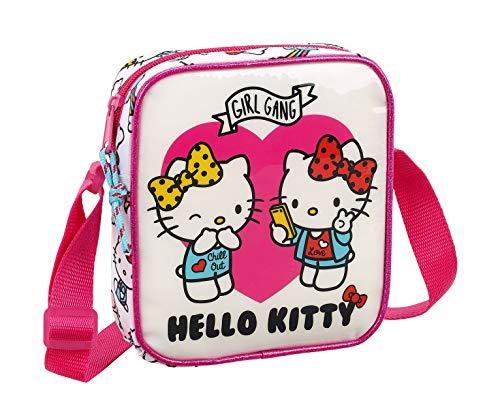 Hello Kitty 2018 Bolsa de Cuerdas para el Gimnasio, 18 cm, 1 litro, Rosa