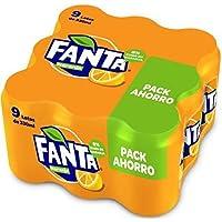 Fanta Refresco de Naranja - Paquete de 9 x 330 ml - Total: 2970 ml