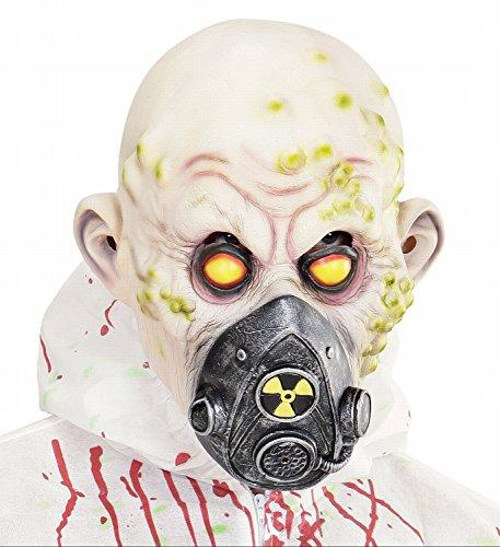 Widmann - Máscara para disfraz de adulto Peligro Biológico (843)