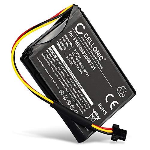 CELLONIC® Qualitäts Akku kompatibel mit Tomtom Go 500 (2013) Go 510 (2013) Go 50 Go 600 ONE 140 ONE 140S ONE 140S US Start 50, FMB0932008731 P2 6027A0089521 VF6D VF6S 950mAh Ersatzakku Batterie