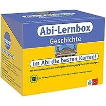 Klett Abi-Lernbox Geschichte: 100 Lernkarten mit den wichtigsten Prüfungsaufgaben und Lösungen
