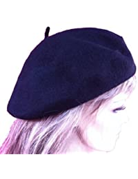LadyMYP©Baskenmütze in verschiedenen Farben, Baske, Filzbaske, Alpenmütze, Franzosenmütze, Schafwolle
