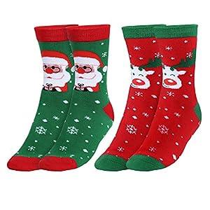 Andake Calcetín de Navidad Medias