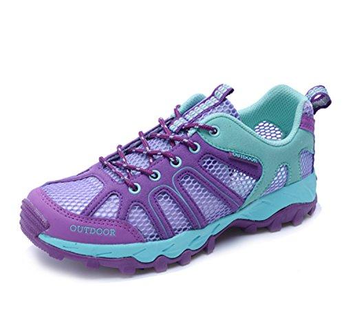 Scarpe da alpinismo Antiscivolo da donna Indossabile Elasticità Traspirabilità Performance Tempo libero Scarpe da corsa Scarpe da corsa Scarpe casual Sport Viola