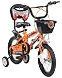 #6: MAD MAXX Steel Kid's Single Speed Road Cycle, 14 inches (Neon Orange)