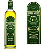 Bushmills Single Malt 10yrs Vol.40% irish Whiskey 0.7 liter