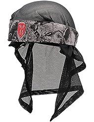 DYE Stirnband Head Wrap - Protecciones de airsoft, color gris, talla onesize