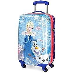 Disney Olafs Frozen Adventure Equipaje Infantil, 55 cm, 33 Litros, Multicolor