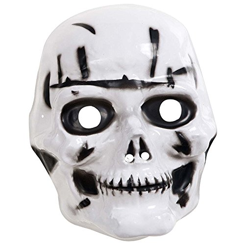 Widmann 2663T Kindermaske Totenkopf, One (Ideen Fancy Duo Dress Kostüm)